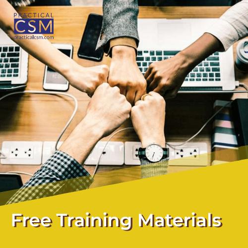 Free Training Materials