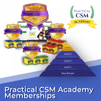 Practical CSM Academy Memberships